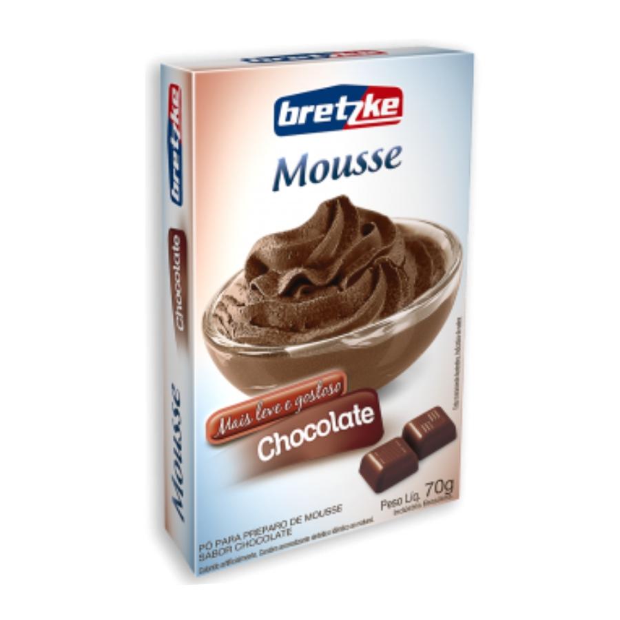 Mousse Chocolate - Sachê 70g