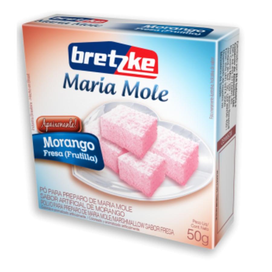Maria Mole - Morango 50g