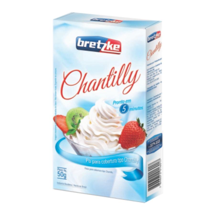 Mistura para Chantilly - Caixa 50g